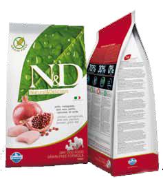 N&D -ruokasäkit